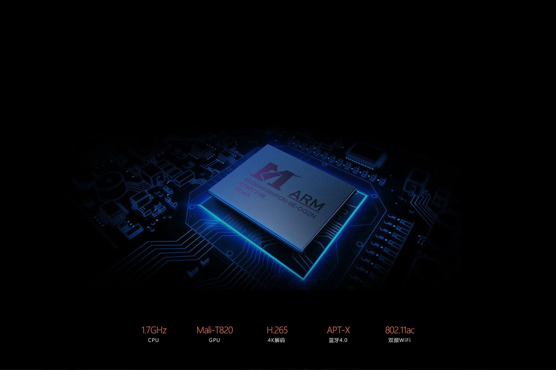 芯片規格比較: MStar頂級6A938芯片