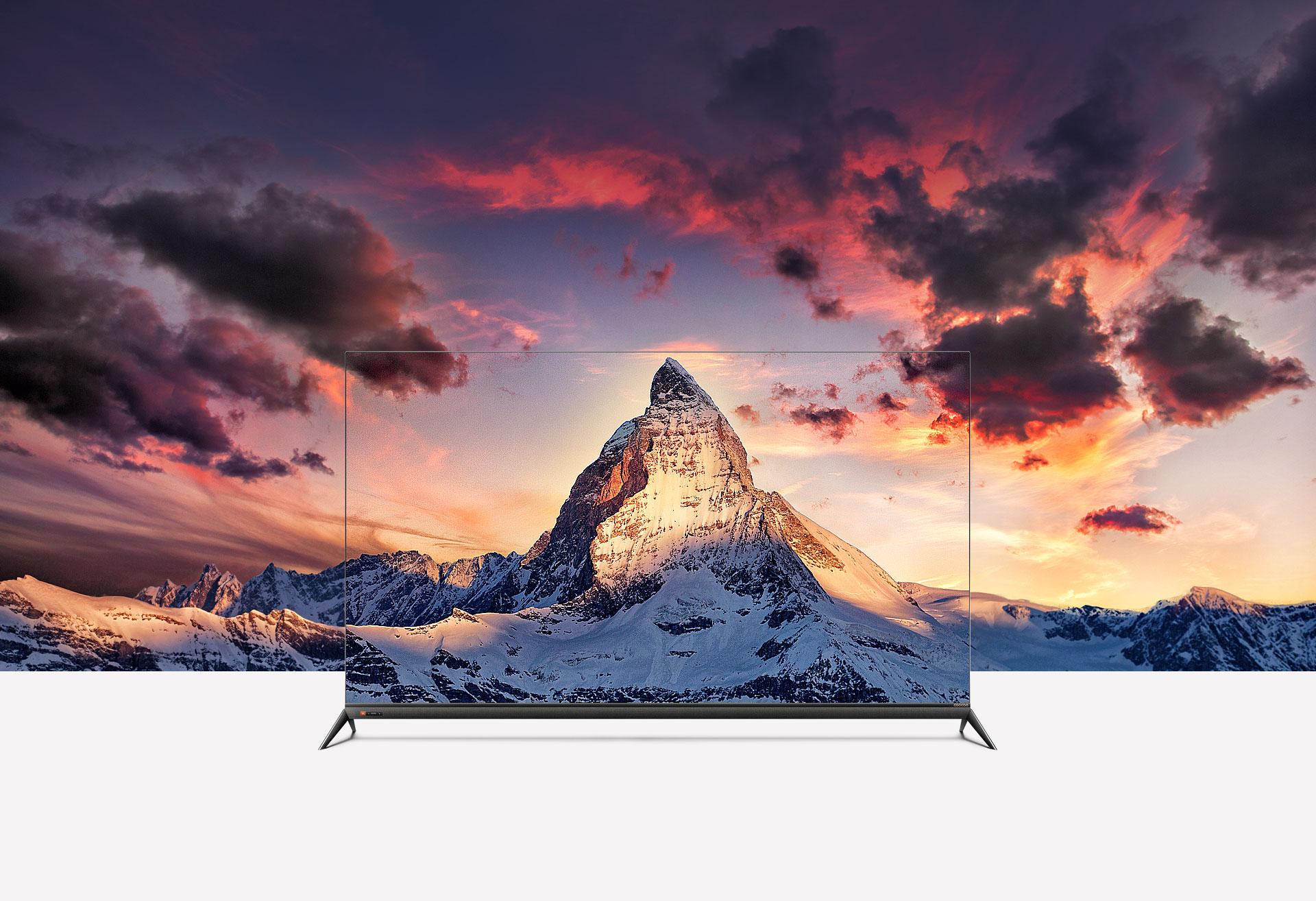 ART5致薄无边设计-酷开55A3防蓝光教育电视
