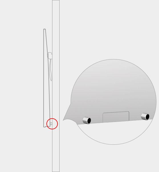 防碰撞贴心设计-酷开A55专用挂架
