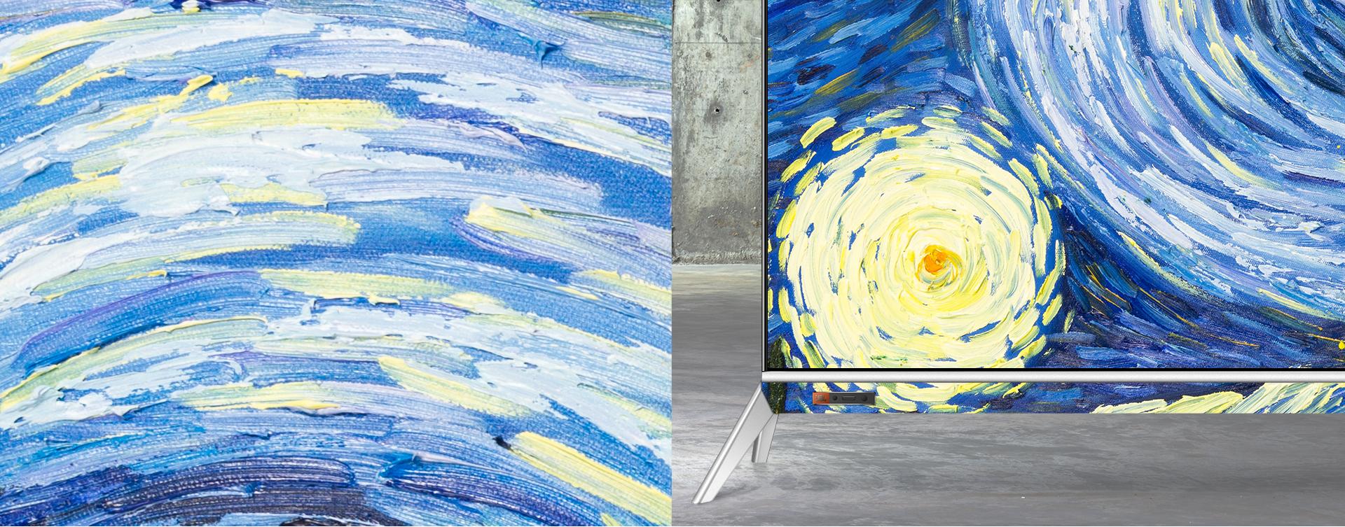 酷开T55 油画装饰  艺术生活