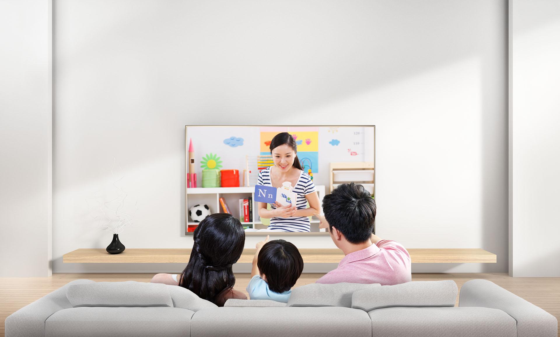 學而思教育-酷開55U3B防藍光教育電視