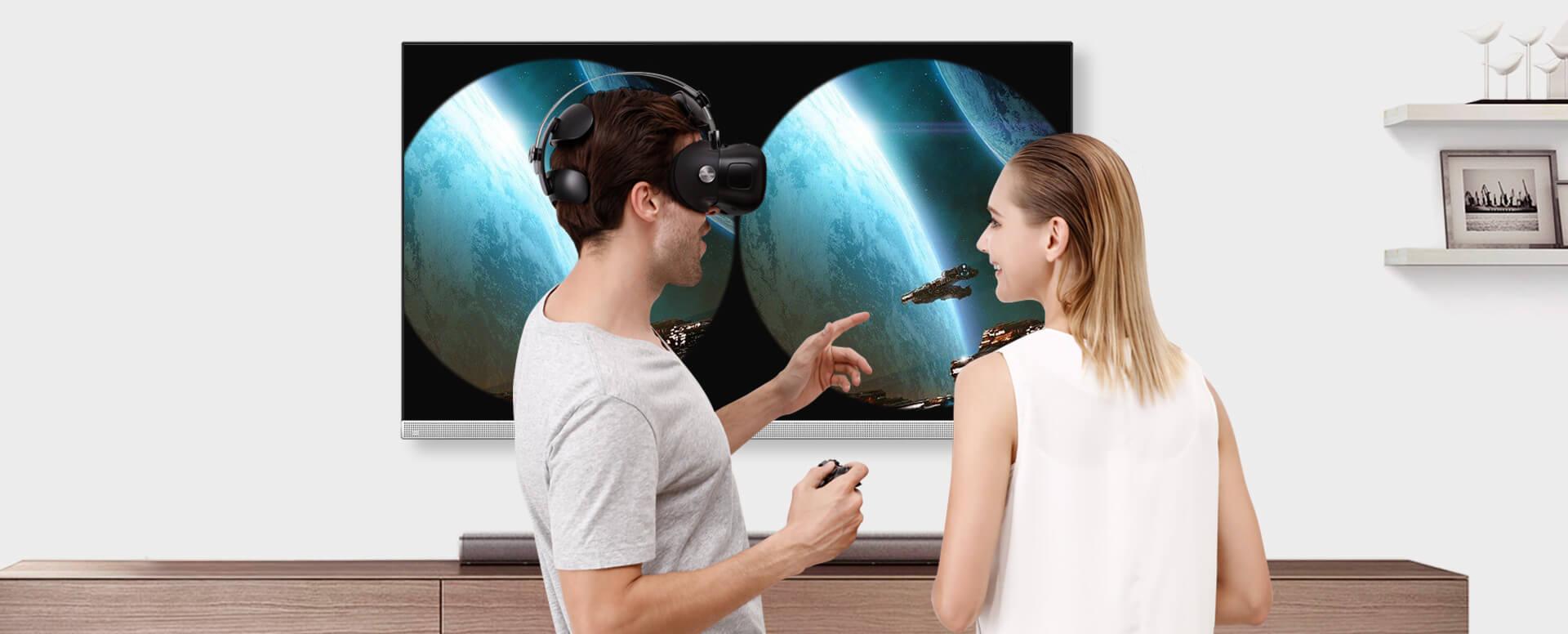 HDMI图像输出-酷开VR一体机