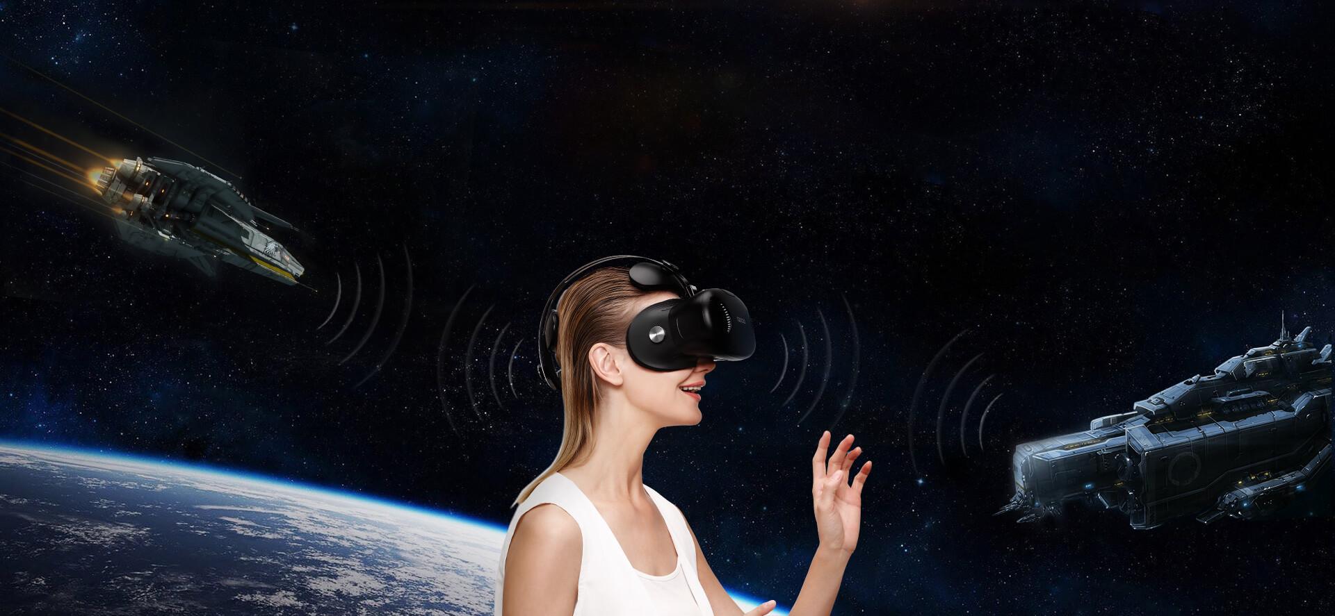 全景声 音效系统-酷开VR一体机