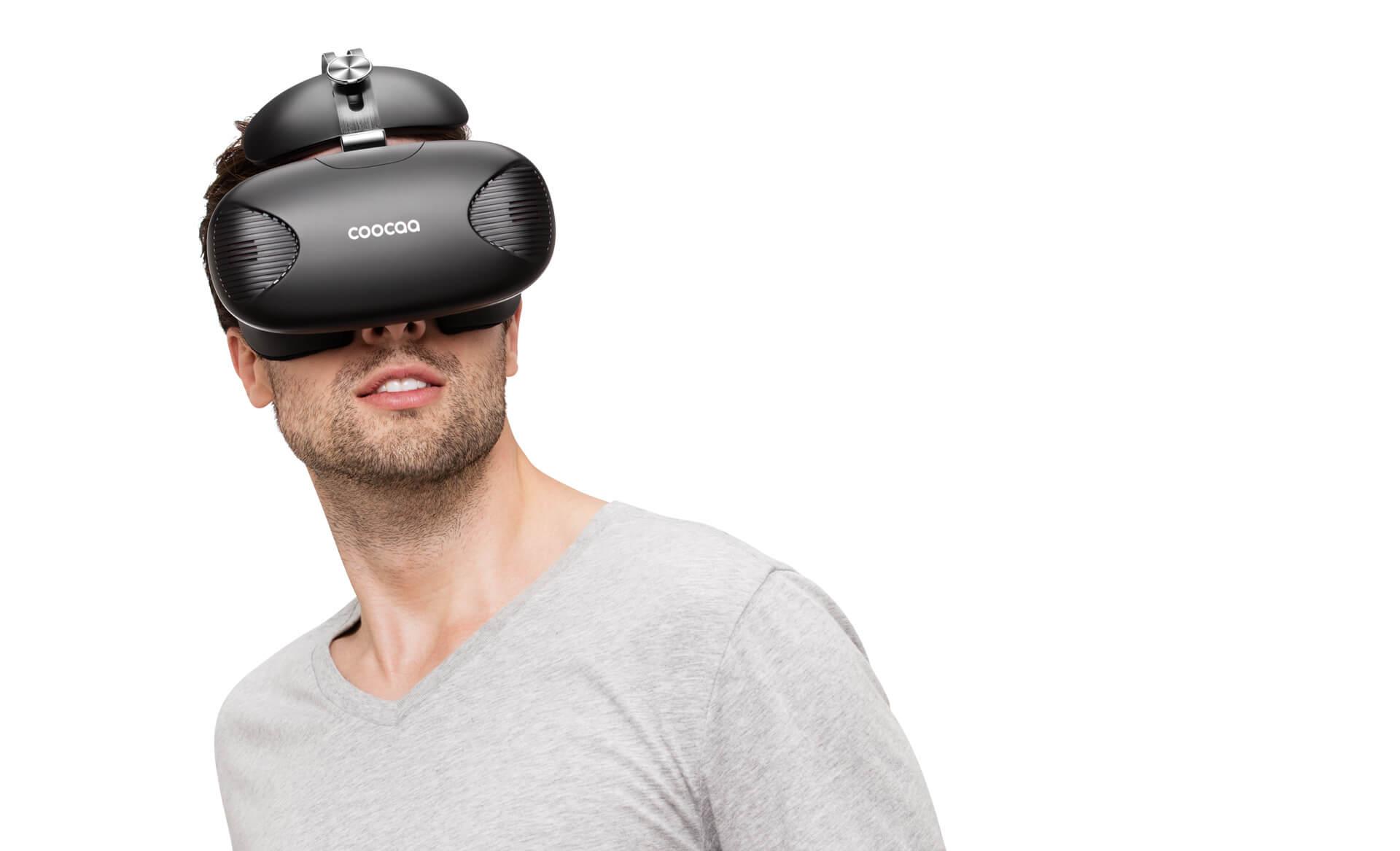 酷开VR随意门,VR一体机(黑)