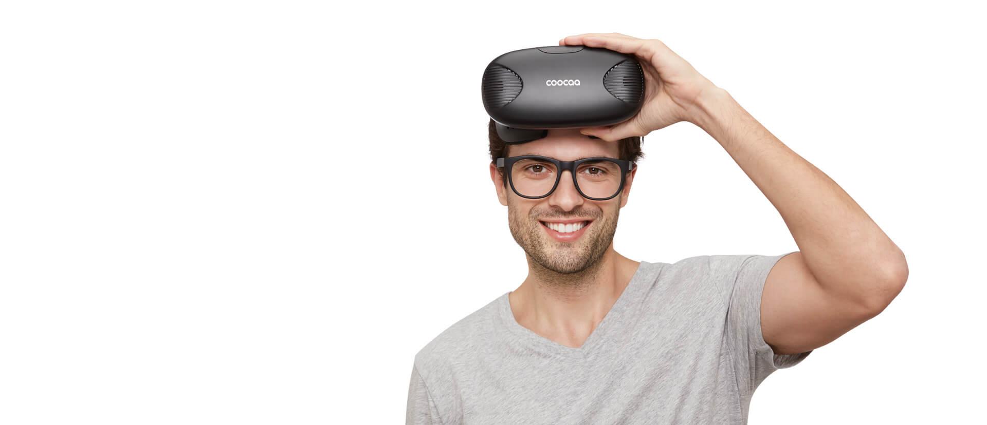 眼镜模式-酷开VR一体机黑色版