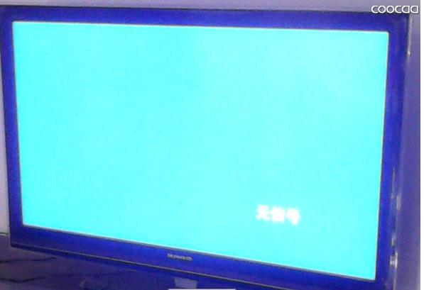 如果接了机顶盒的av信号到电视机也有可能出现这种