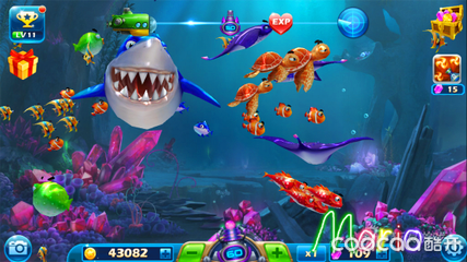 深海灯笼鲨鱼